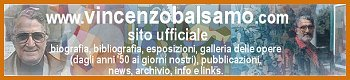 Banner of Vincenzo Balsamo's Official WebSite